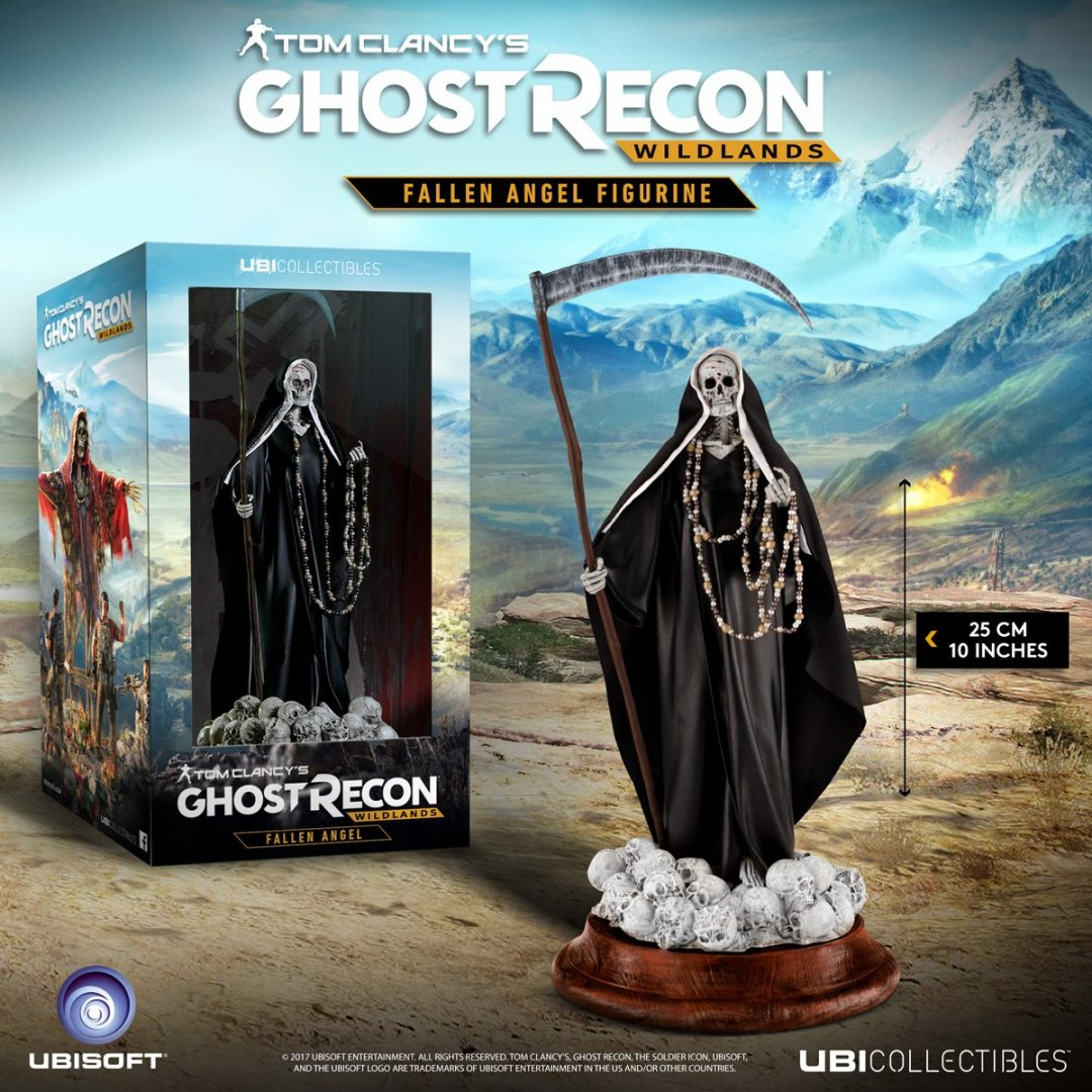 New Ghost Recon And Division Figurines Coming From Ubicollectibles