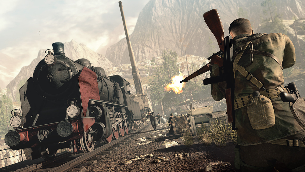 New Sniper Elite 4 Gameplay Trailer