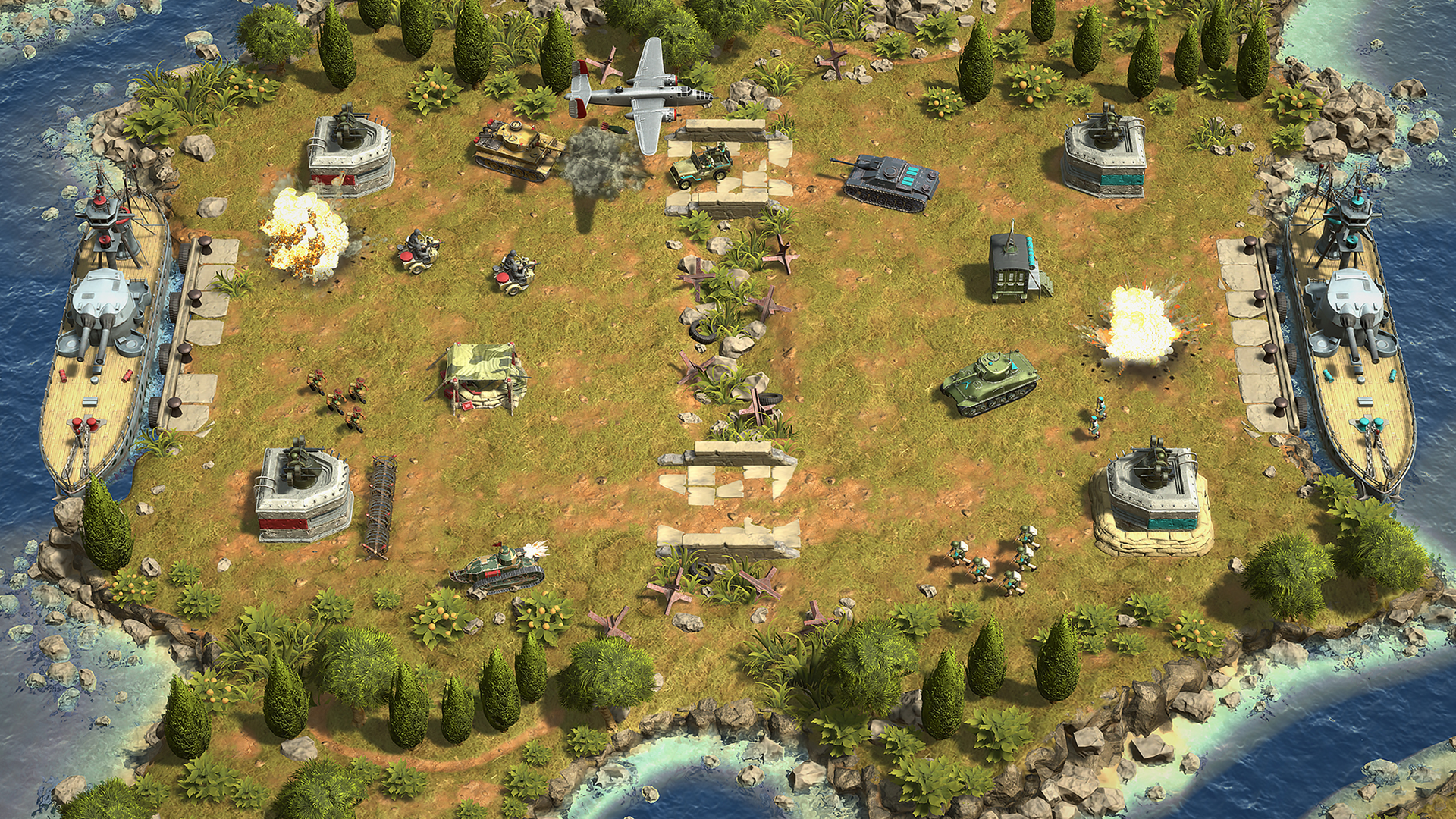 Battle Islands Commanders Out Now For PC And Current-Gen Consoles