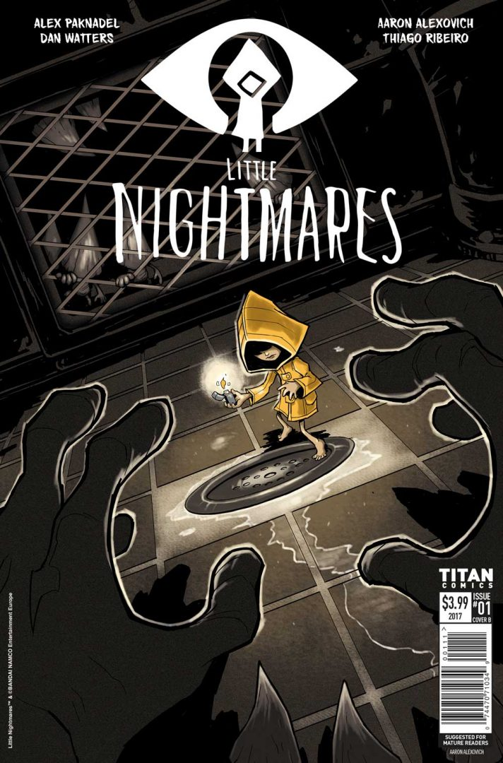Bandai Namco and Titan Comics Team Up Again for Little Nightmares Comics!