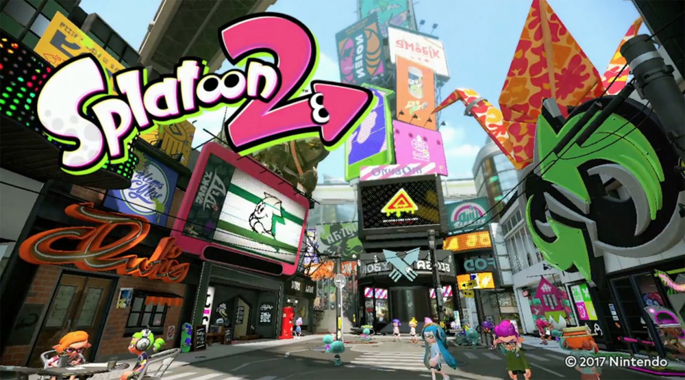 Splatoon 2 Global Testfire Announced