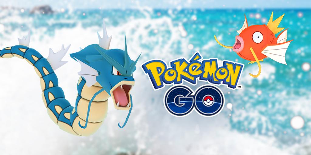 Splish Splash, I was catching a Pokémon!