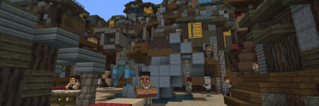 The Fallout Mash-Up Pack Comes to Minecraft Pocket Edition and Windows 10!