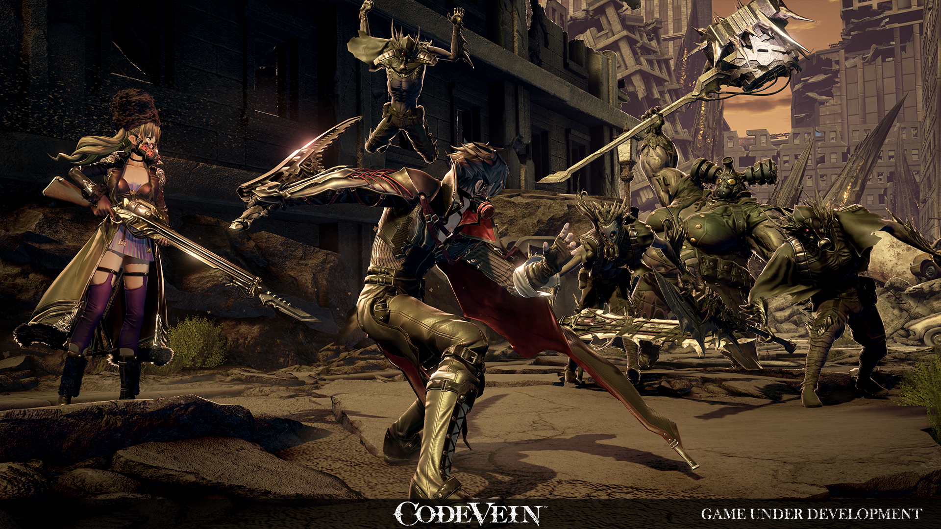 Bandai Namco's Code Vein Releasing Next Year