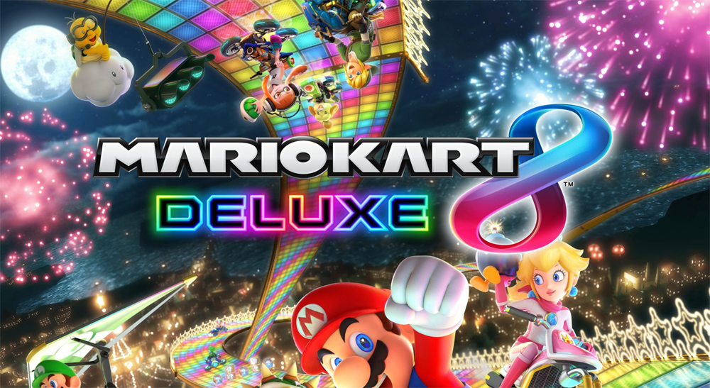 Mario Kart 8 Deluxe Races To Stores