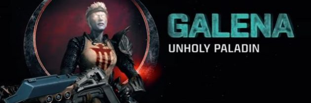 Quake Champions Reveals New Champion Galena and She's Terrifying