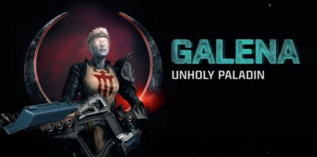Quake Champions Reveals New Champion Galena and She's Terrifying
