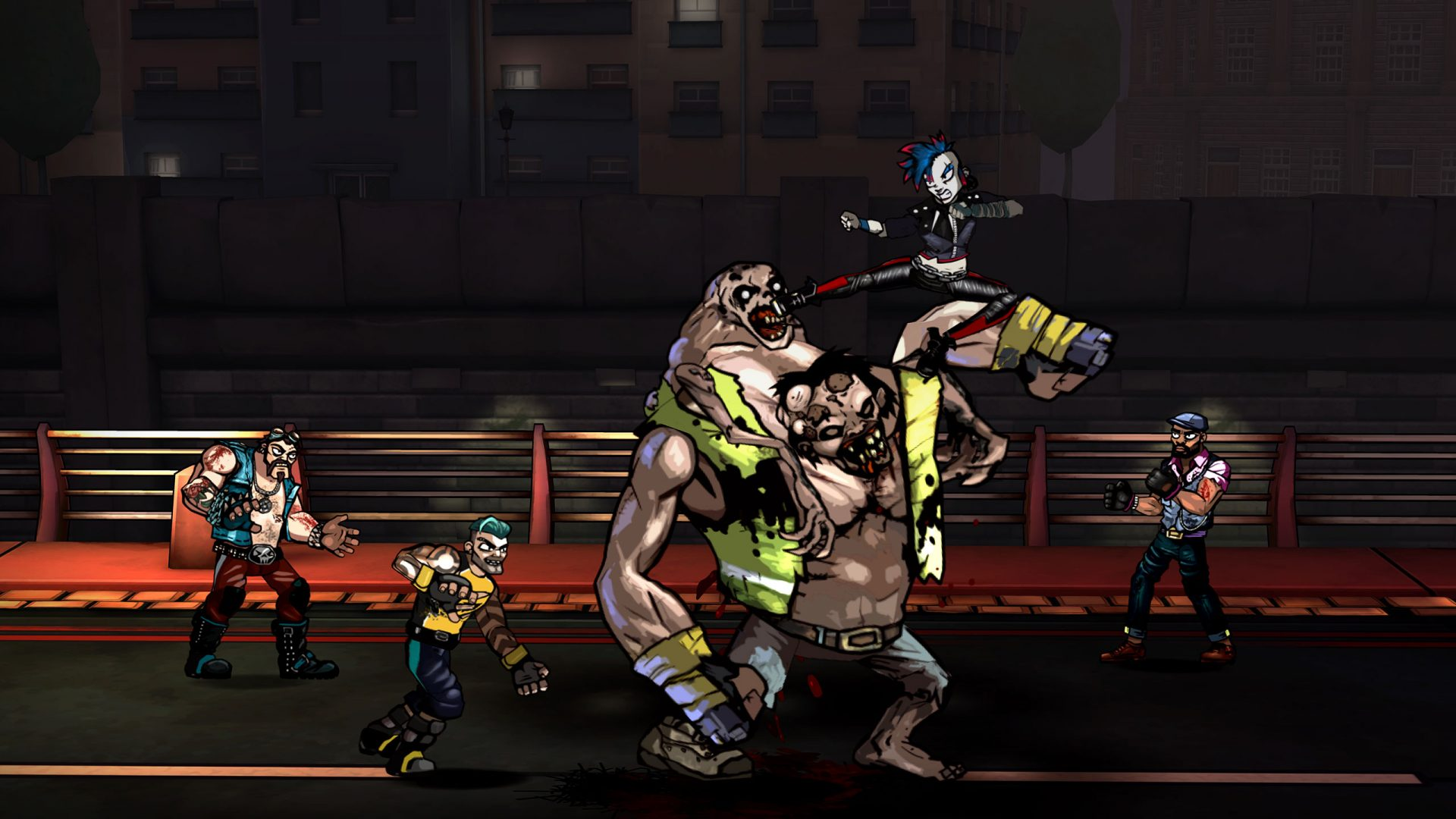 nDreams and Paw Print Games Announce Bloody Zombies