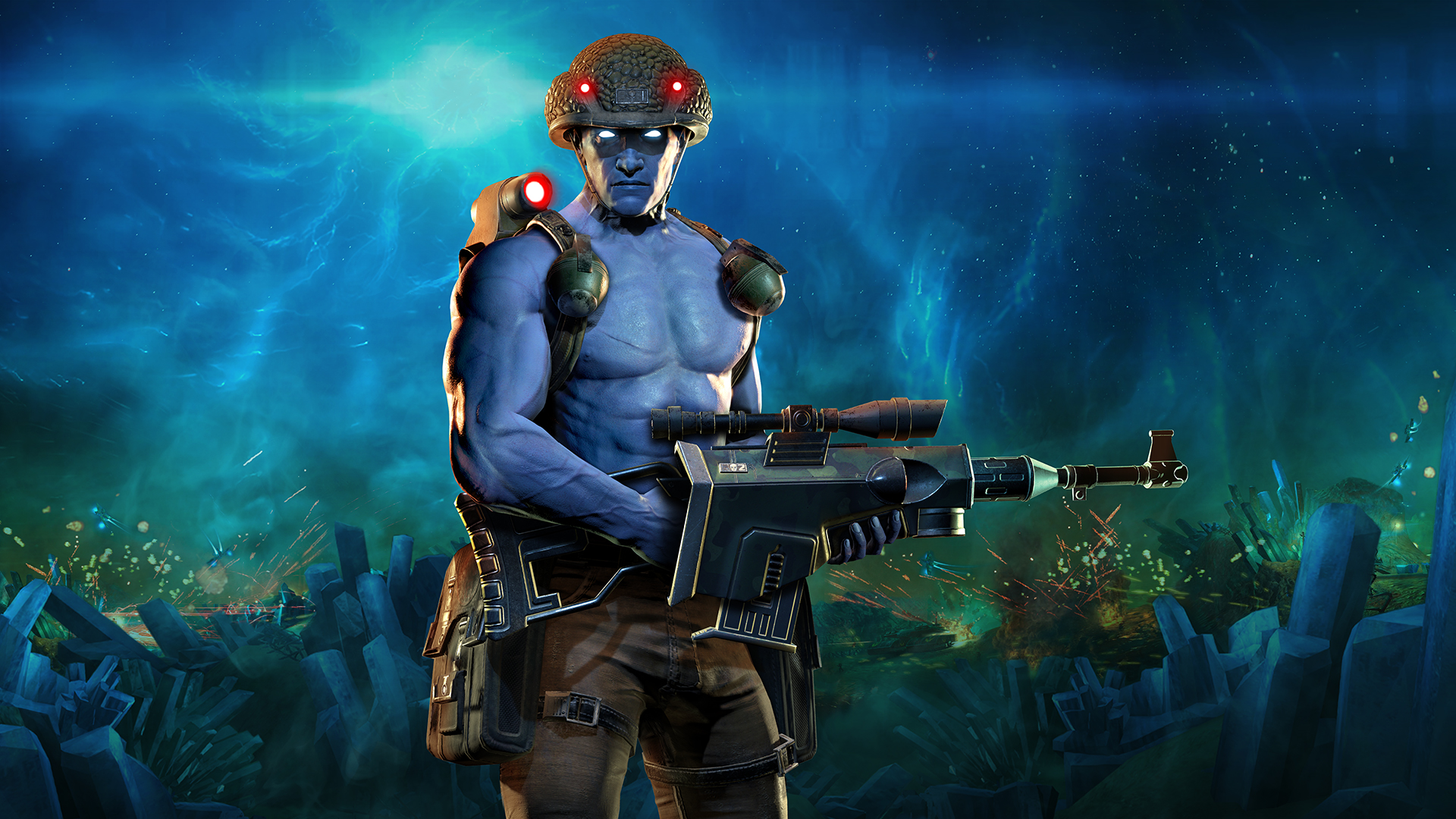 Rogue Trooper Redux Unveils the Remastered Rogue In New Trailer