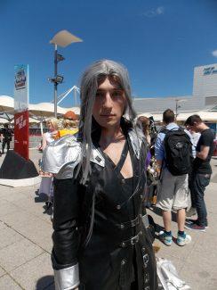 Sephiroth FFVII MCM Cosplay Roundup 2017