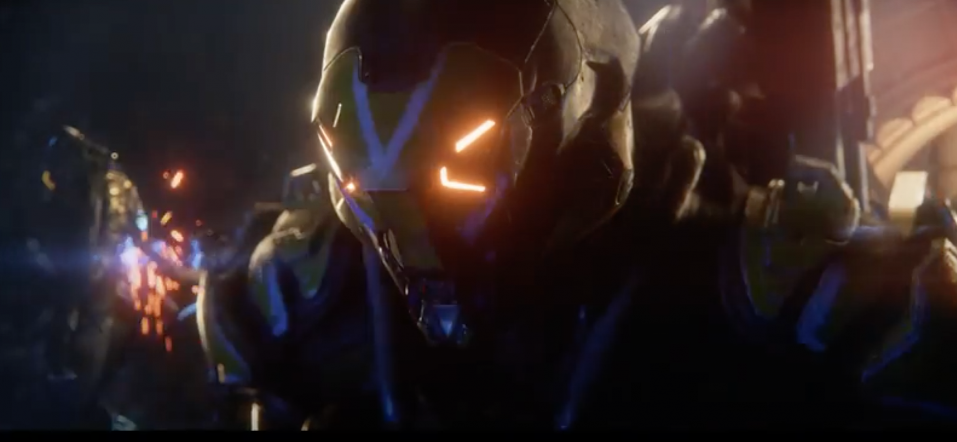 The new Anthem 4K trailer Shows off a bunch of action and environment