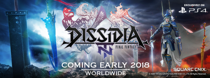 Finally! Dissidia Final Fantasy NT is Coming to PS4 Early 2018.