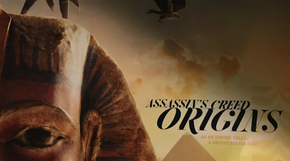 Ubisoft… 3D prints a Sarcophagus to promote the new Assassin's Creed?