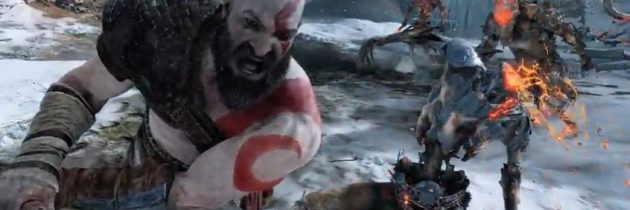 E3 2017 – PlayStation Conference – God of War finally has a release date