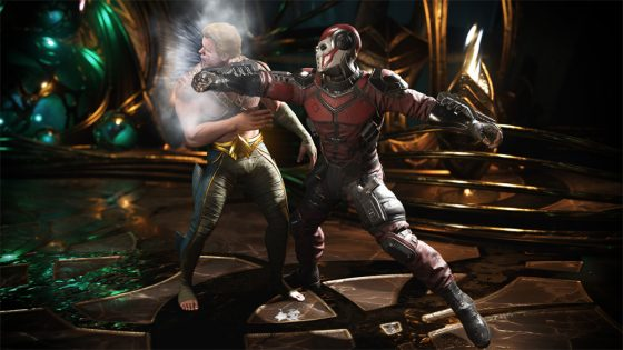 Aquaman vs Deadshot from Injustice 2