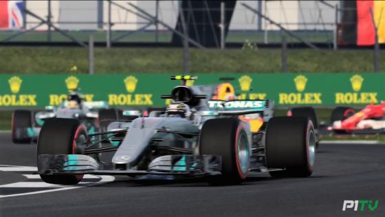 F1 2017 fancy car