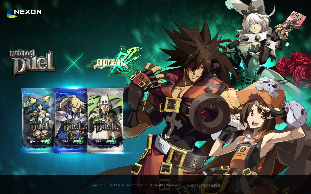 Mabinogi Duel and Guilty Gear team up for New Expansion