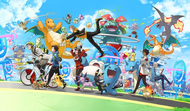 Happy Birthday, Pokémon GO!