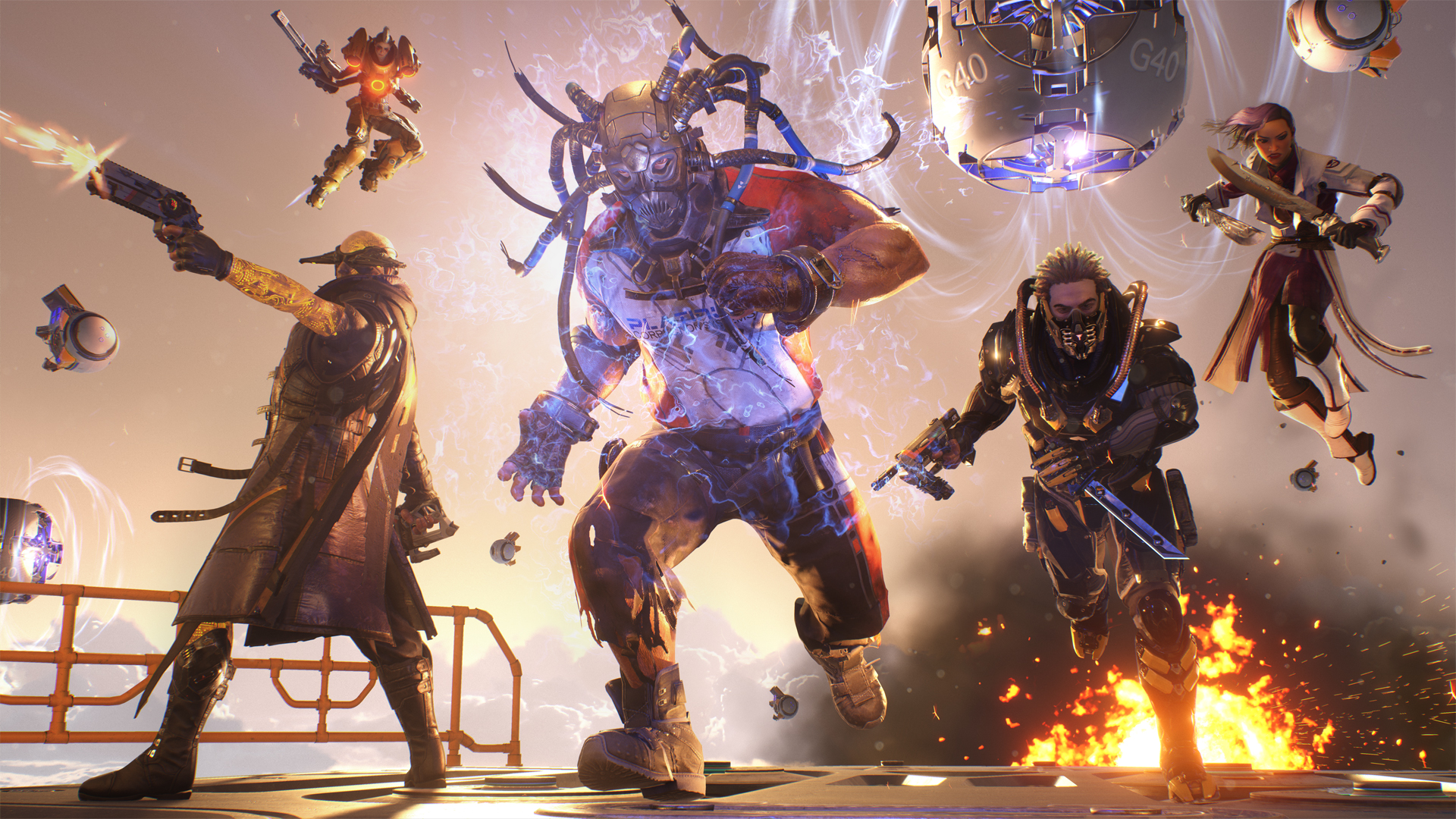 It's Your Last Chance to Play the LawBreakers Beta