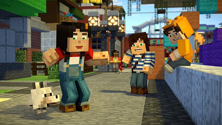 Minecraft Story Mode Season 2 Kicks Off Today