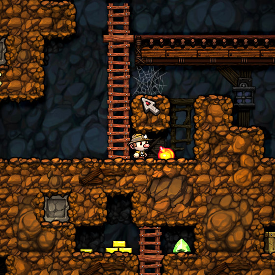 Delving into Existential Dread with Spelunky