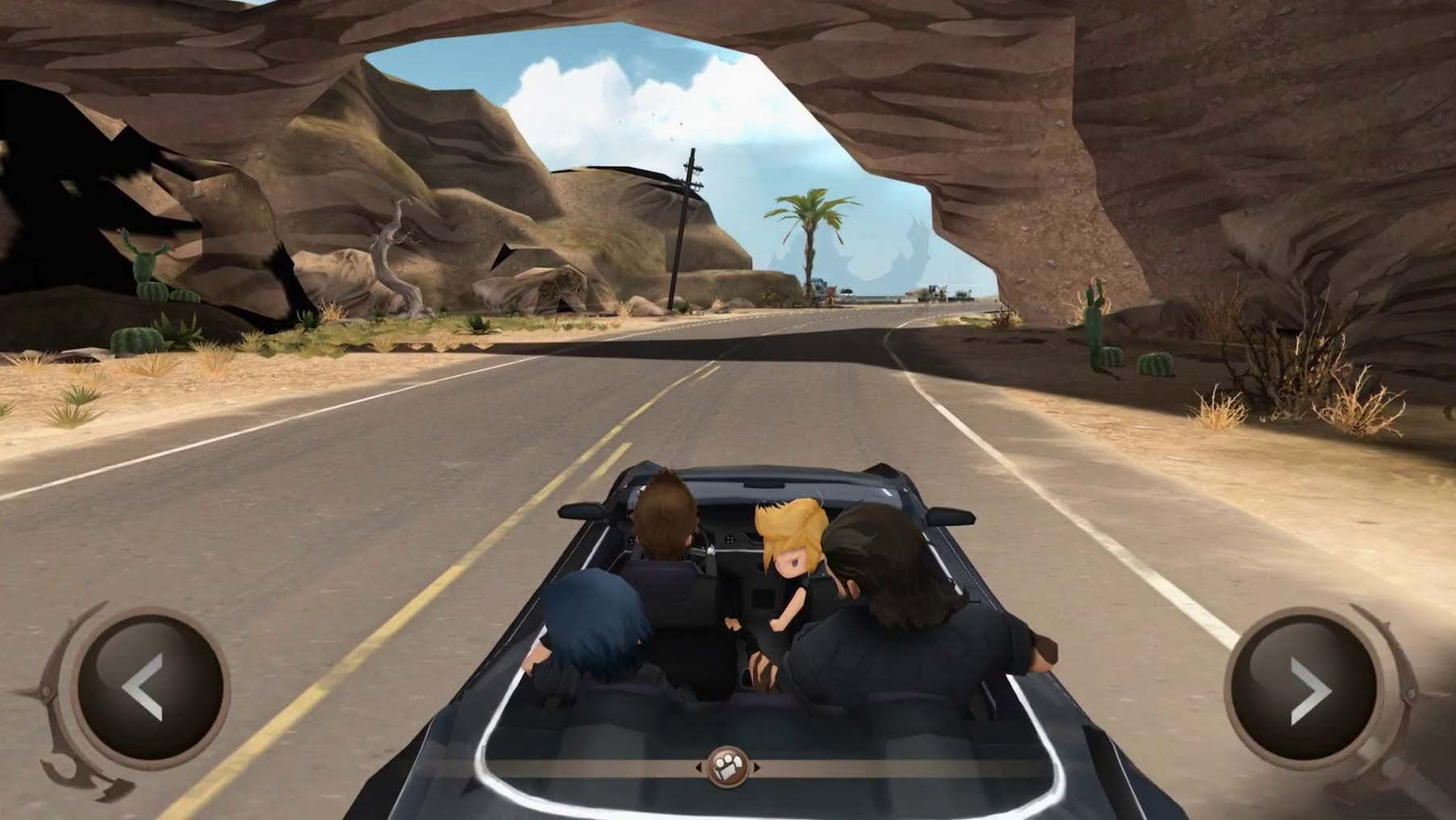 Play Final Fantasy 15 on the go with the new Pocket Edition!