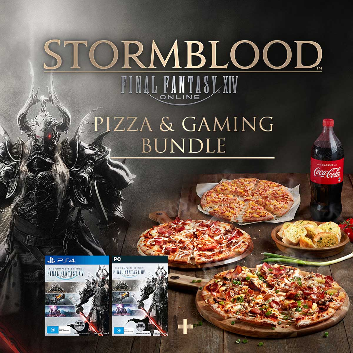 Final Fantasy-Themed Pizza is a Thing!