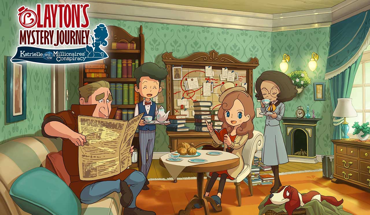 Layton's Mystery Journey: Katrielle and the Millionaires' Conspiracy 3DS Release Date Announced