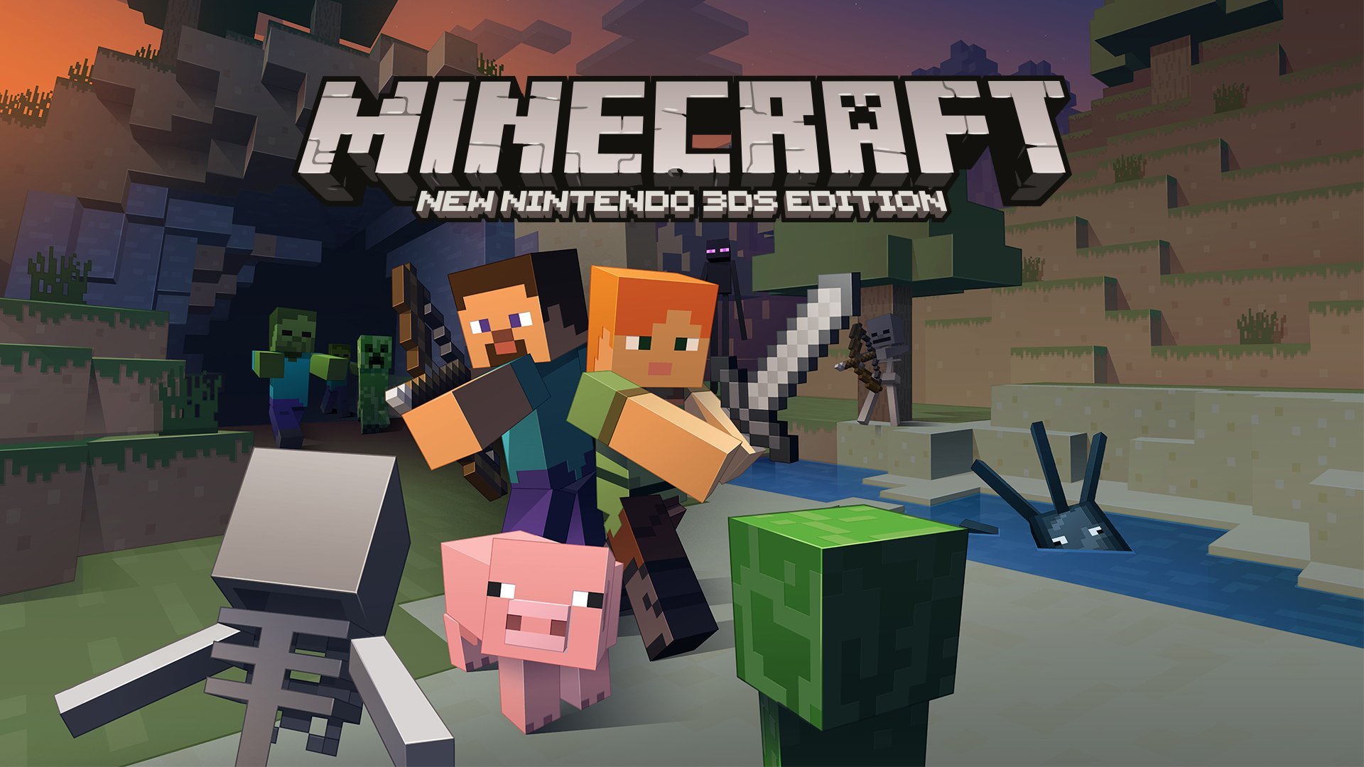Nintendo Direct: Minecraft New Nintendo 3DS Edition is Coming Soon.