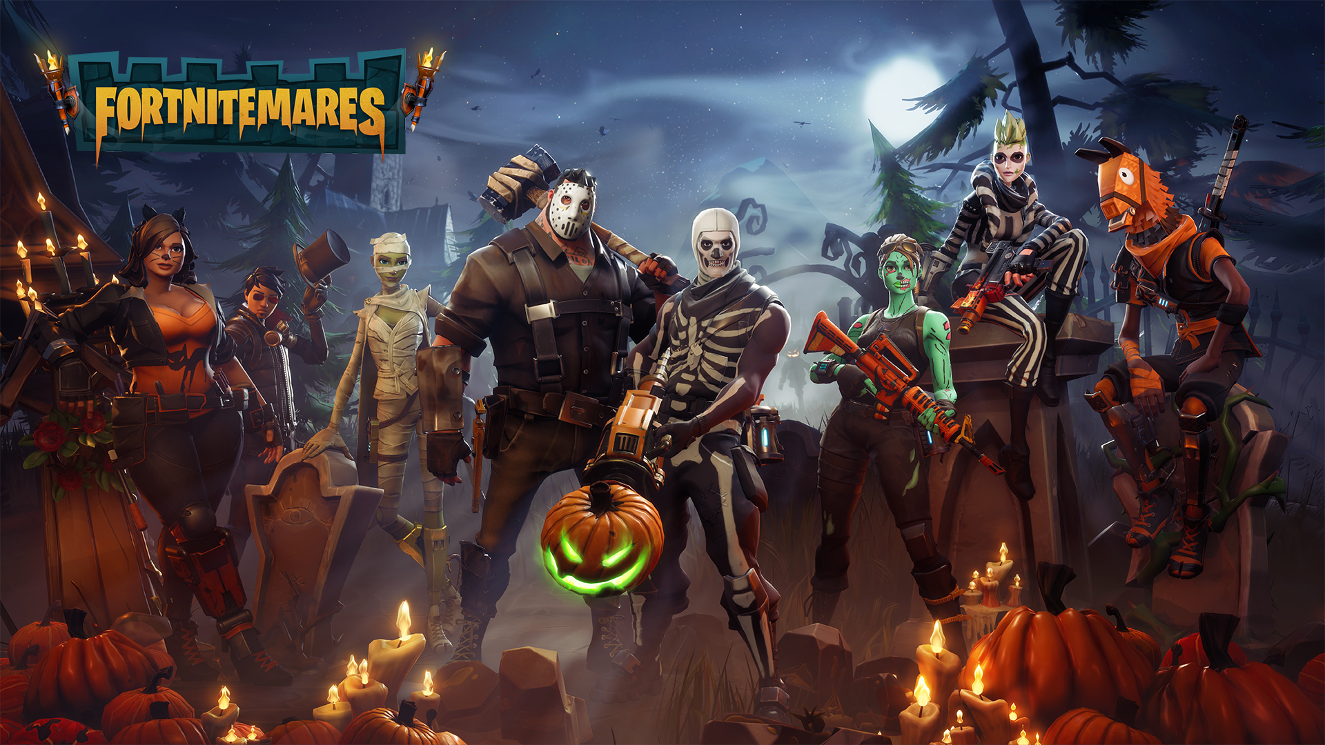 Fortnite gets Spooky with the Halloween Update