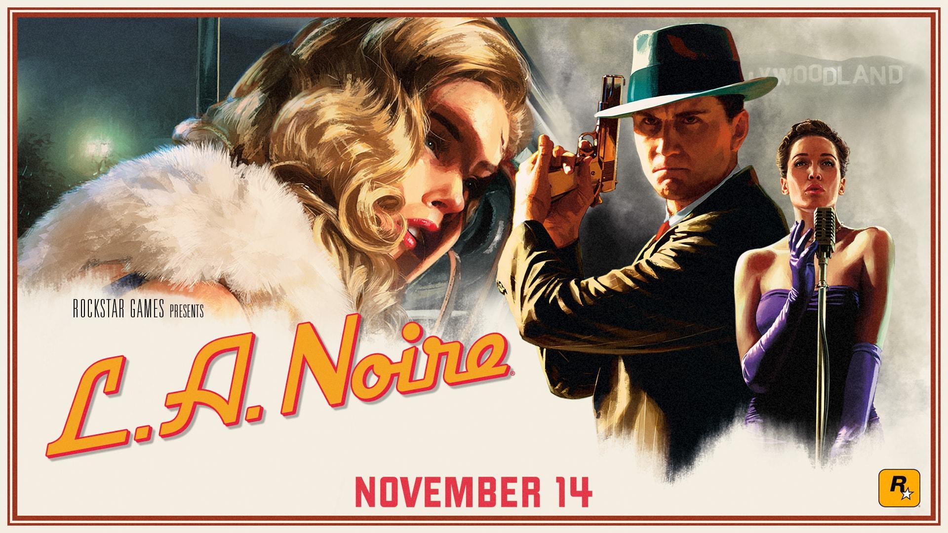 L.A. Noire Gets 4K Trailer