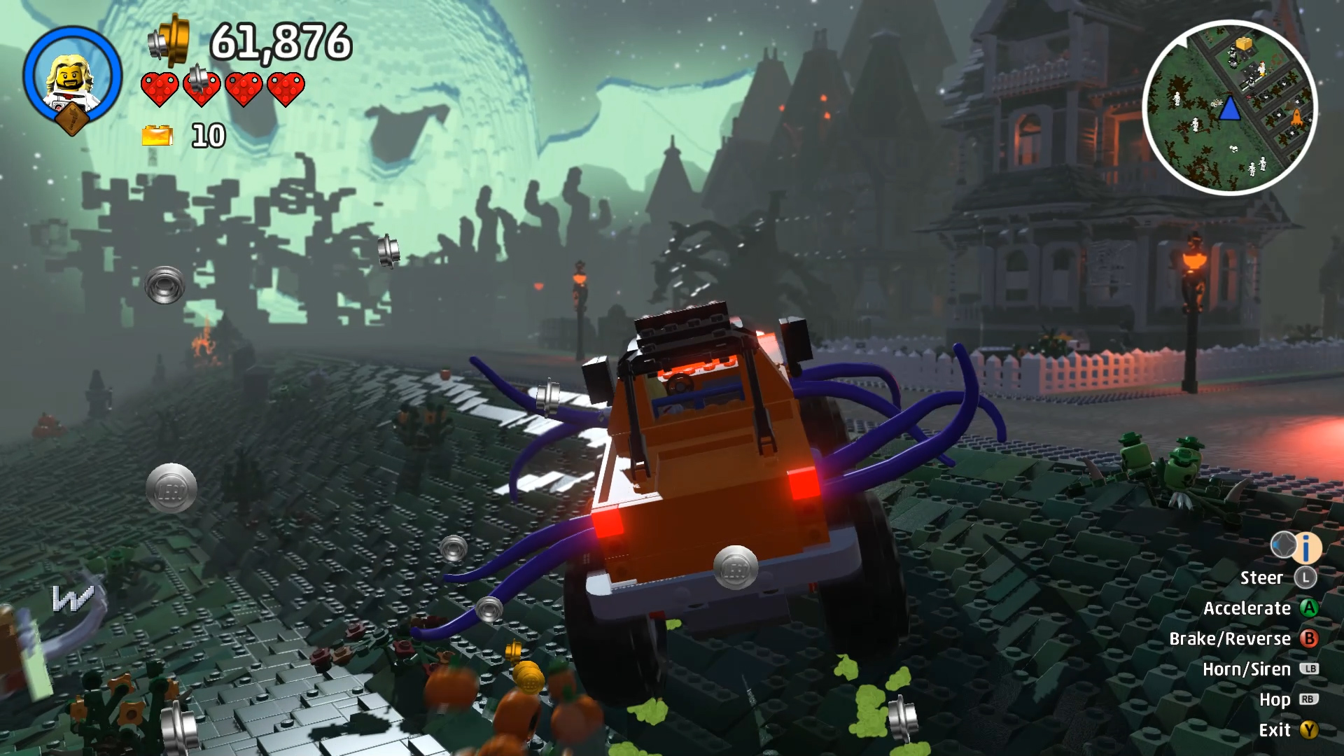 Lego Worlds Introduces Spooky New Adventures With The New Monsters DLC Pack