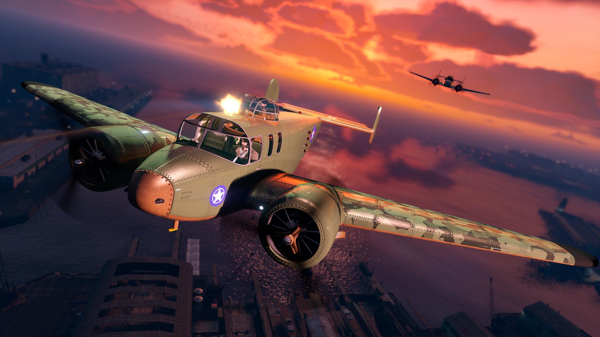 Mammoth Mogul Plane Comes To GTA Online This Week