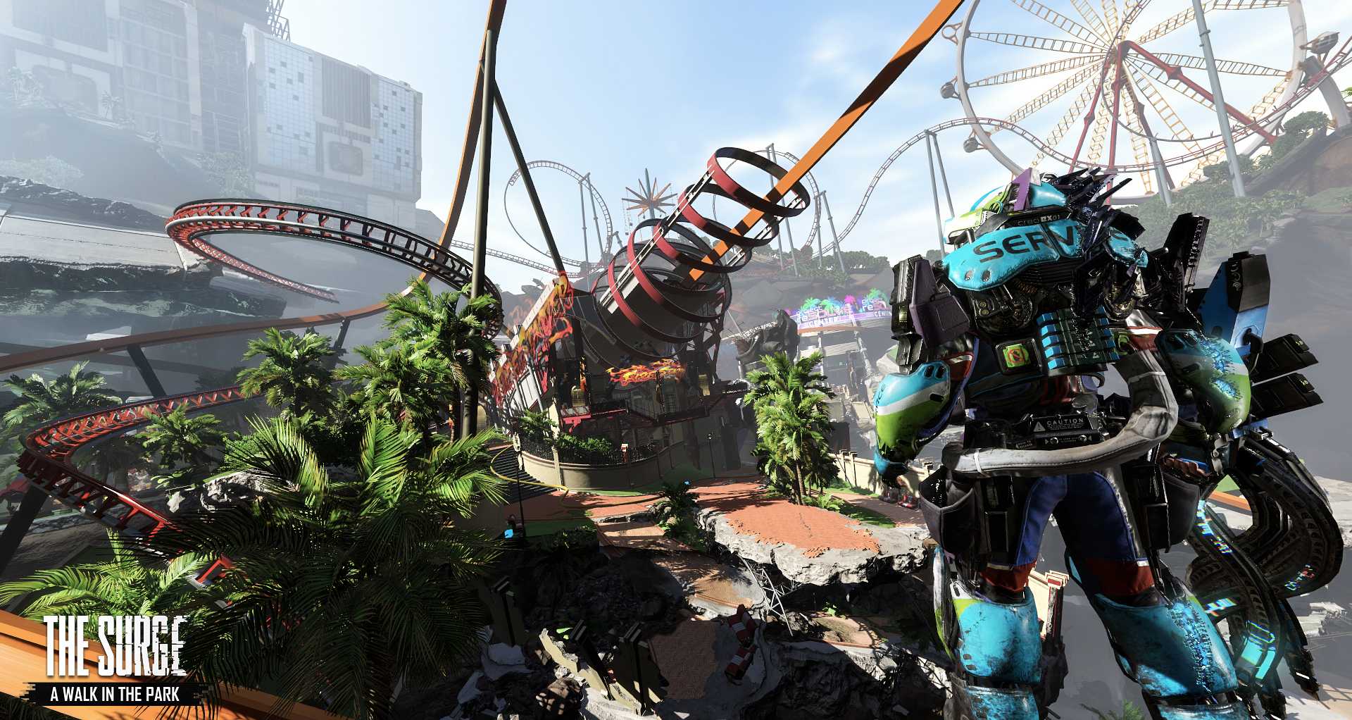 A New Teaser Trailer Has Dropped For The Surge A Walk In The Park