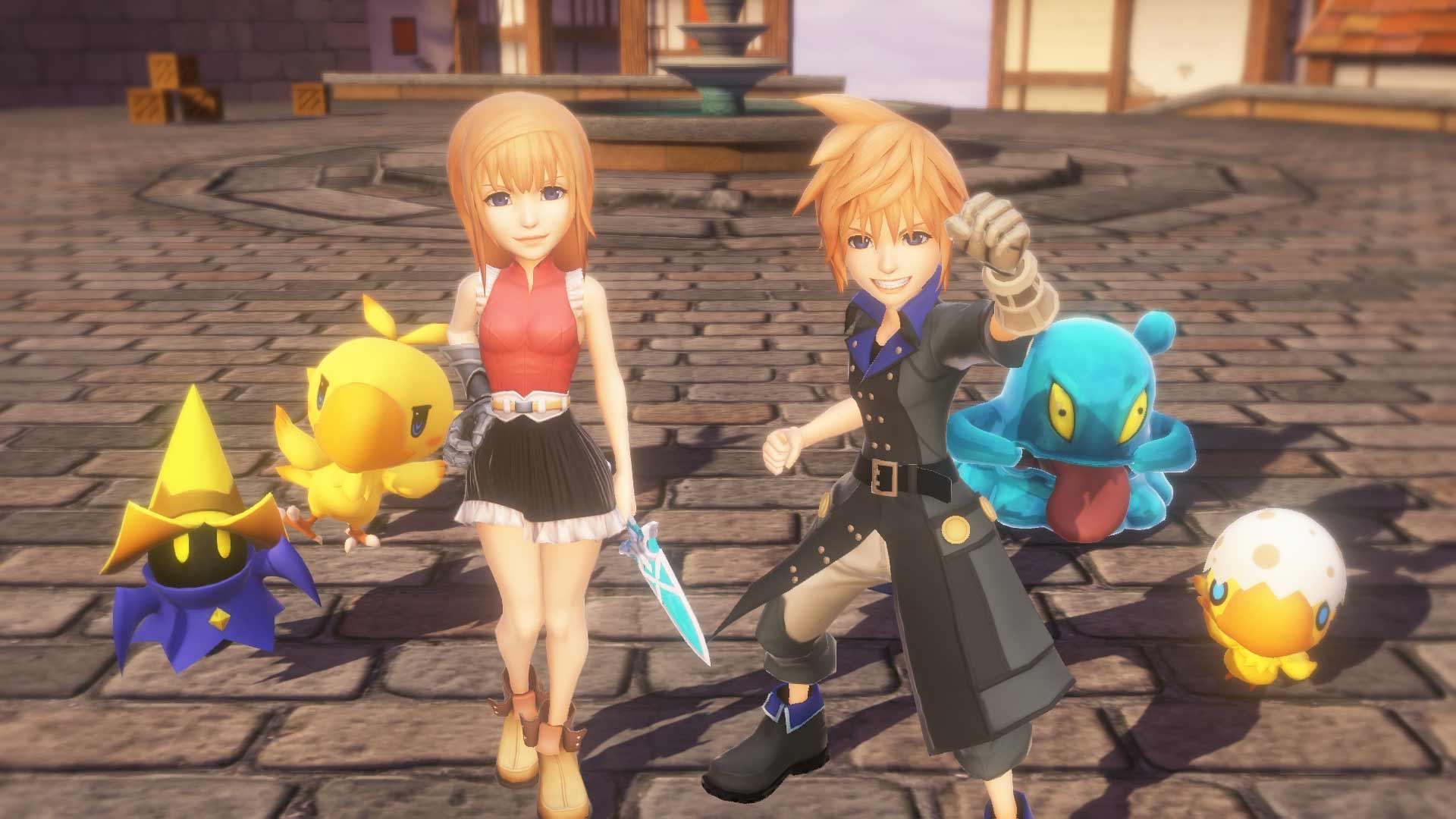 World of Final Fantasy Makes It's Way To Steam on November 21st