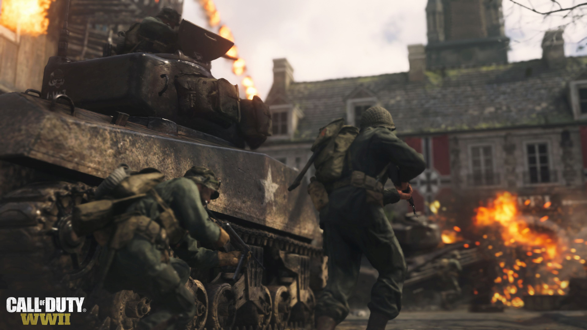 The Second DLC Pack for Call of Duty: WWII Has a Release Date (and Trailer!)