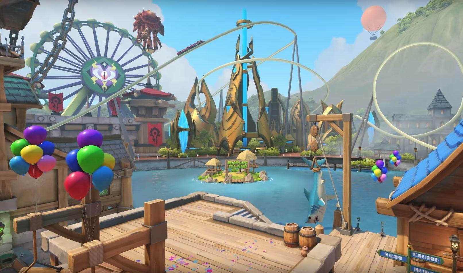 BlizzCon 2017: Overwatch Gets New Map, Blizzard World