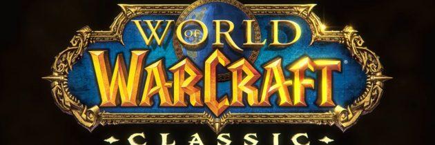BlizzCon 2017: World of Warcraft Classic Server in Development