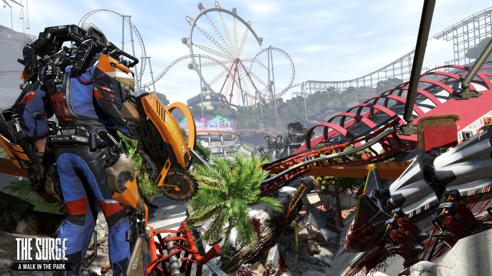 The Surge Takes A Trip to an Amusement Park This December