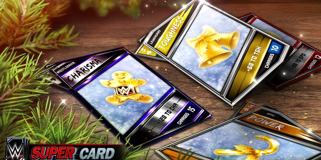 WWE Supercards Season 4 has a special holiday event