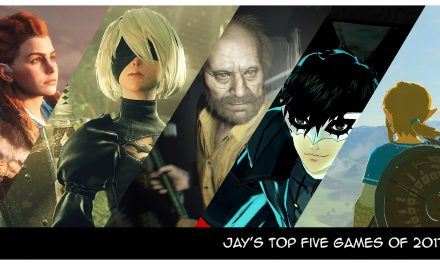Jay's Top 5 Games of 2017