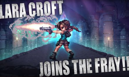 Here's When You Can Play as Lara Croft on Final Fantasy Brave Exvius
