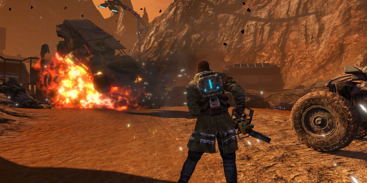 Red Faction Guerrilla Re-Mars-Tered Edition Gets A 4K Graphics Overhaul
