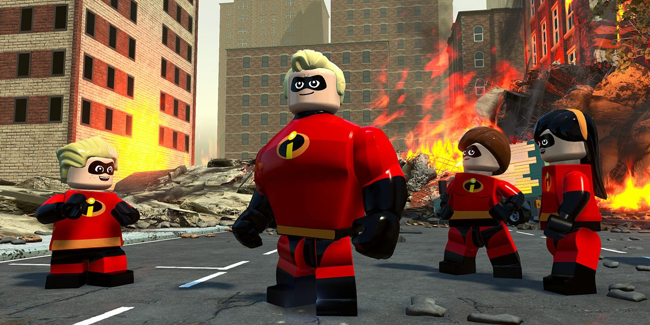 The Incredibles Get Their Own LEGO Game