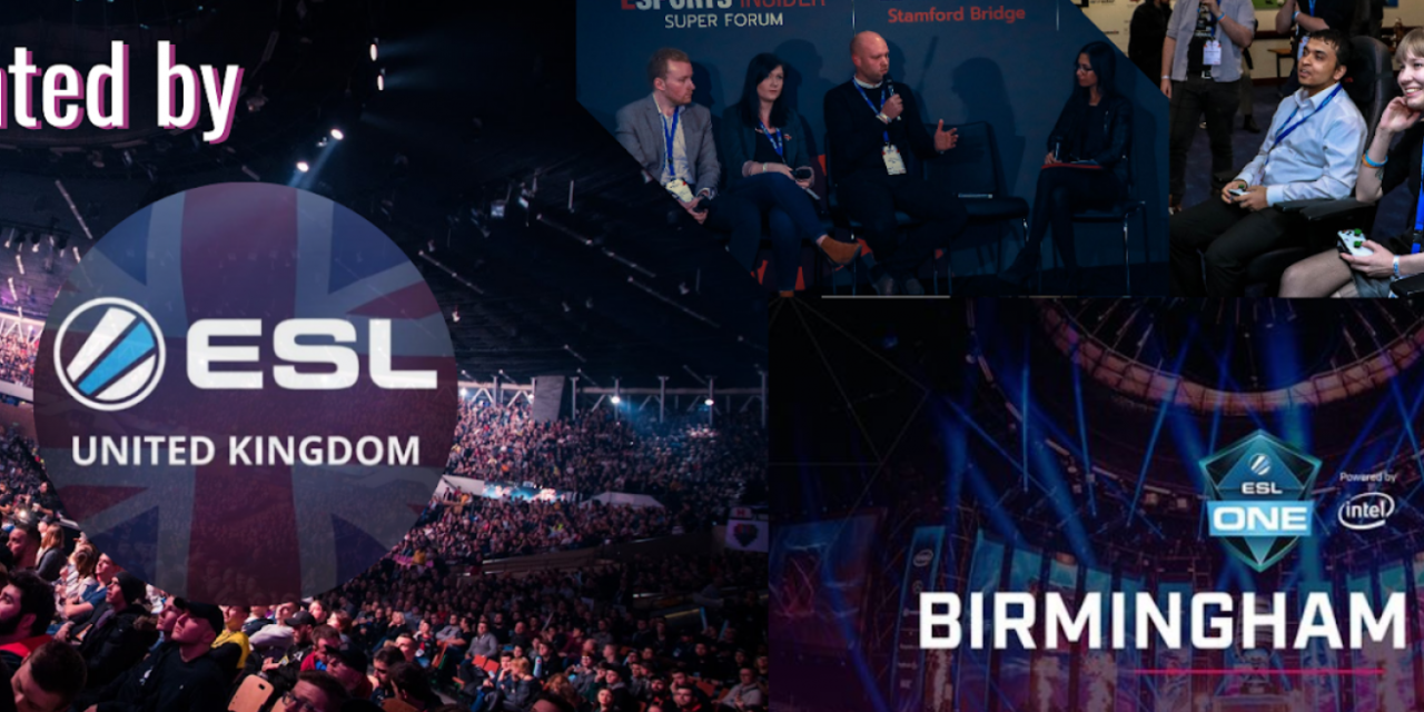 ESL UK and Esports Insider announce ESI Birmingham!