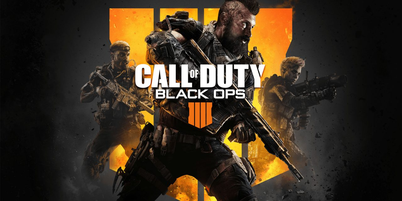 Play Call of Duty: Black Ops 4 in the World's Darkest Room!