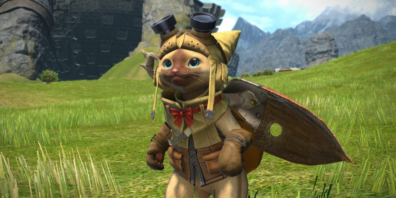 The Final Fantasy XIV x Monster Hunter Trailer Has Dropped