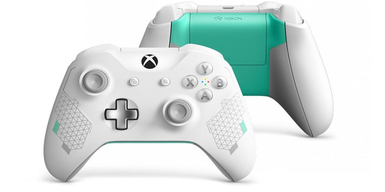 Fancy a Funky New Sport White Xbox Controller?