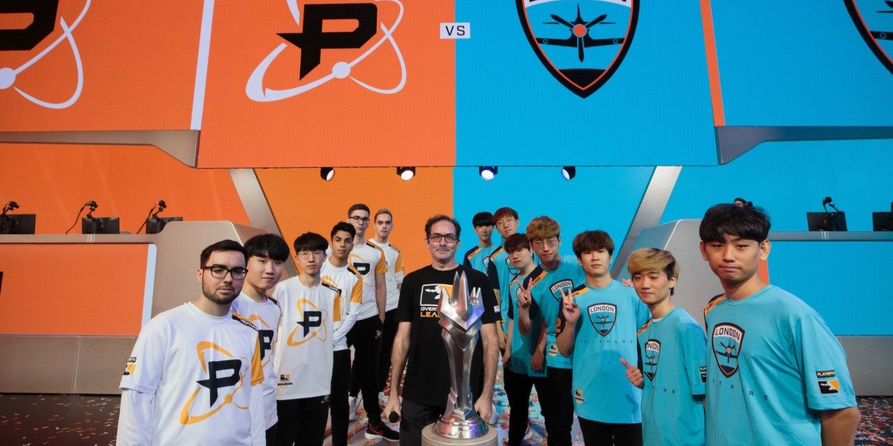 London Spitfire Take Inaugural Overwatch League Grand Finals