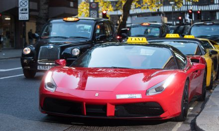 Argos Supercar Taxi Service Zooming Around London
